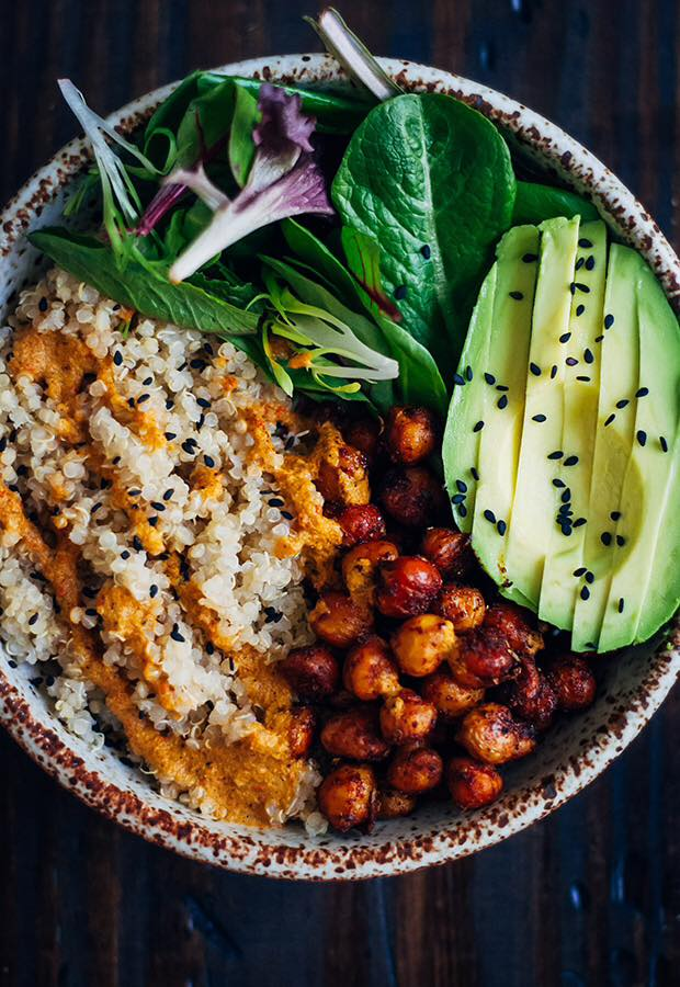 Buddha Bowl (photo credit Well and Full)