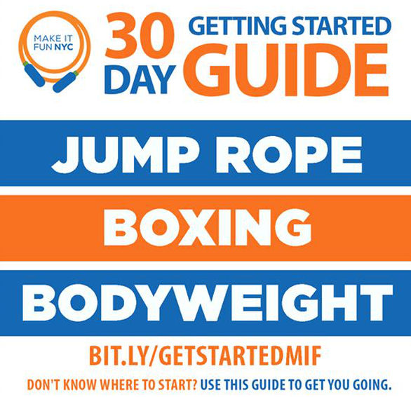 30 Day Jump Rope Guide