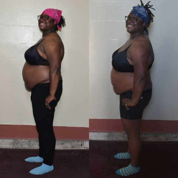 Bernadette Henry Weight Loss Journey Before and After