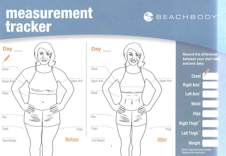 Beachbody Measurement Tracker