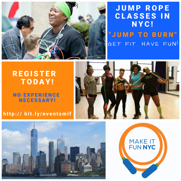 """Jump to Burn"" Jump Rope Classes in NYC and Philly"